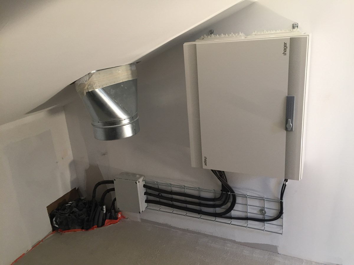 armoire électrique pour unités intérieures VRV
