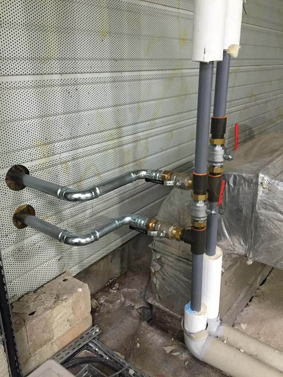 installation groupe eau glacée local TGBT EALAT cannet 3