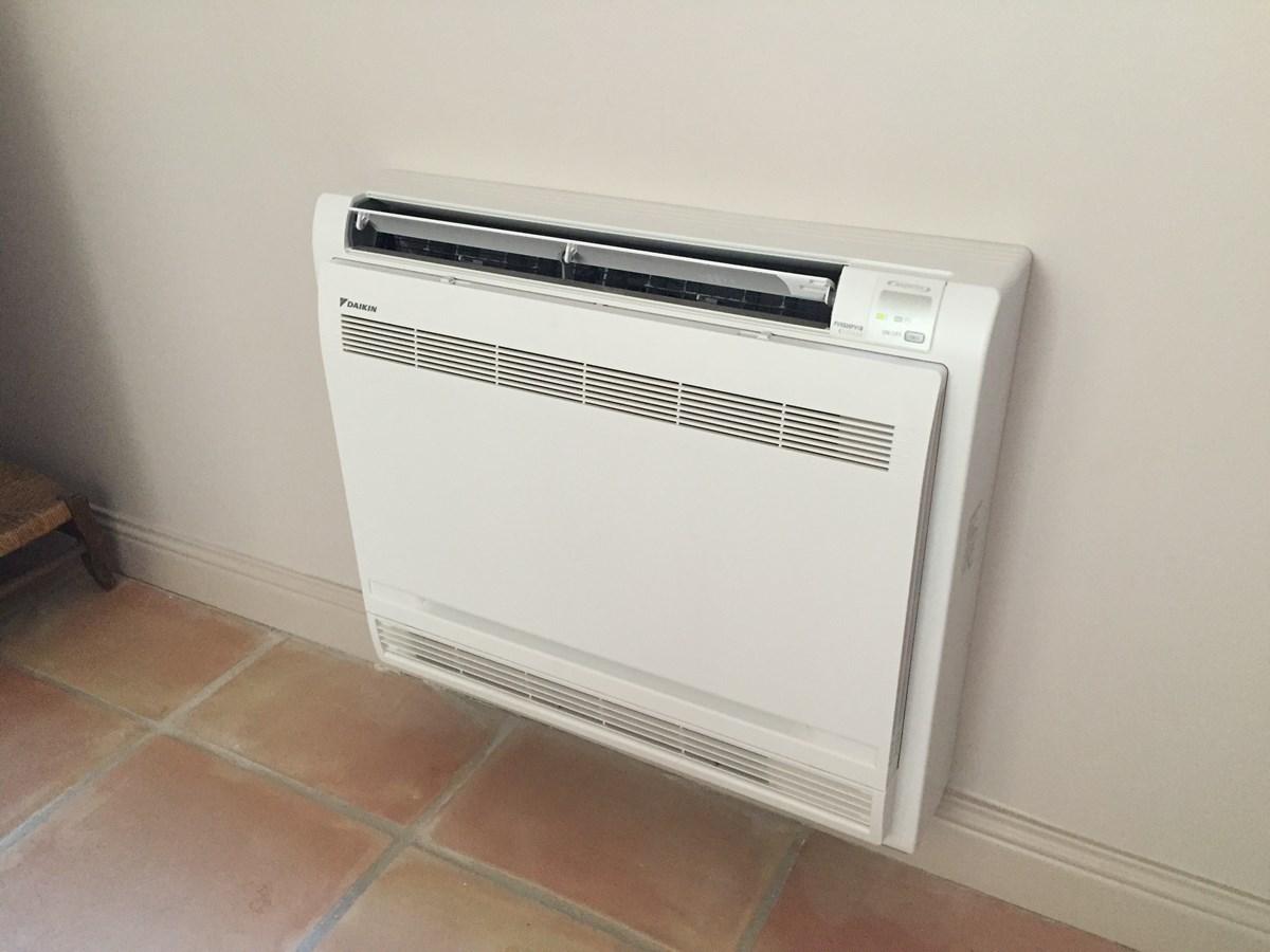 Climatisation reversible en console art climat - Console climatisation reversible ...